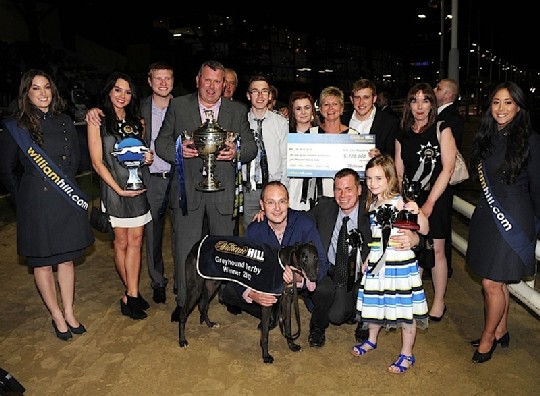 Blonde Snapper 2012 Greyhound Derby Winner